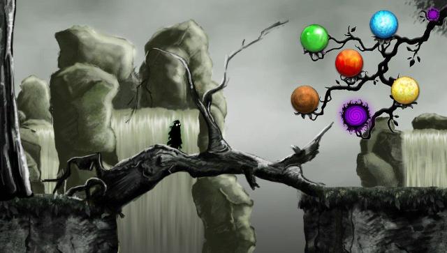 ニヒラブラ −生命と色彩の旅路− ゲーム画面1