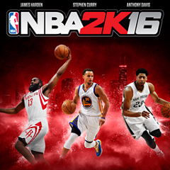 NBA 2K16 ジャケット画像