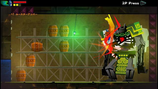 覆面闘士 ゲーム画面2