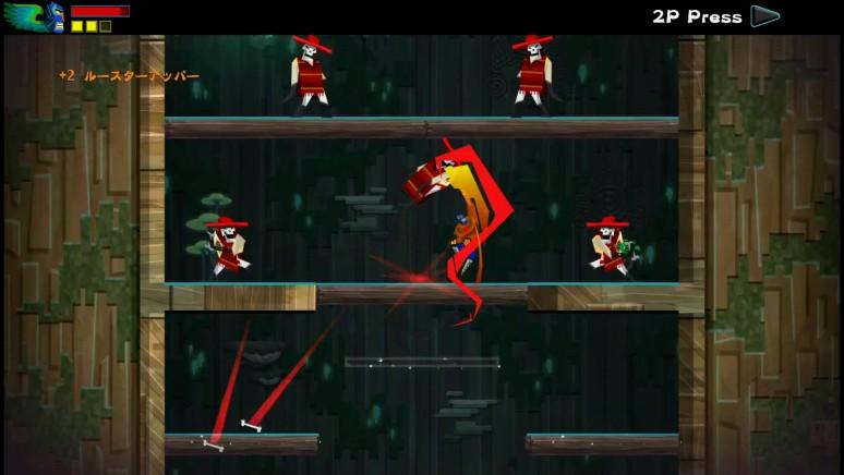『覆面闘士グ』ゲーム画面