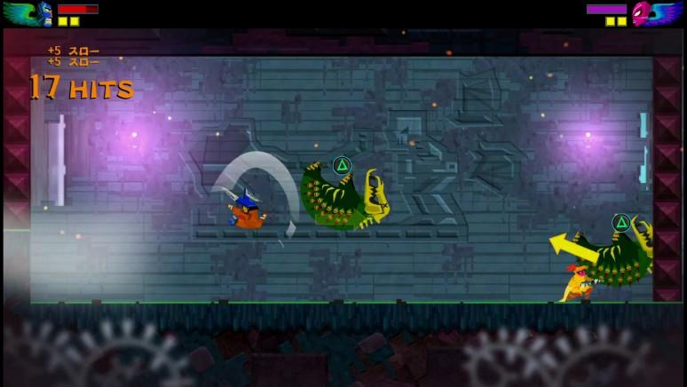 『覆面闘士』ゲーム画面