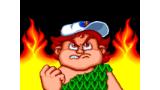 高橋名人の新冒険島 ゲーム画面1