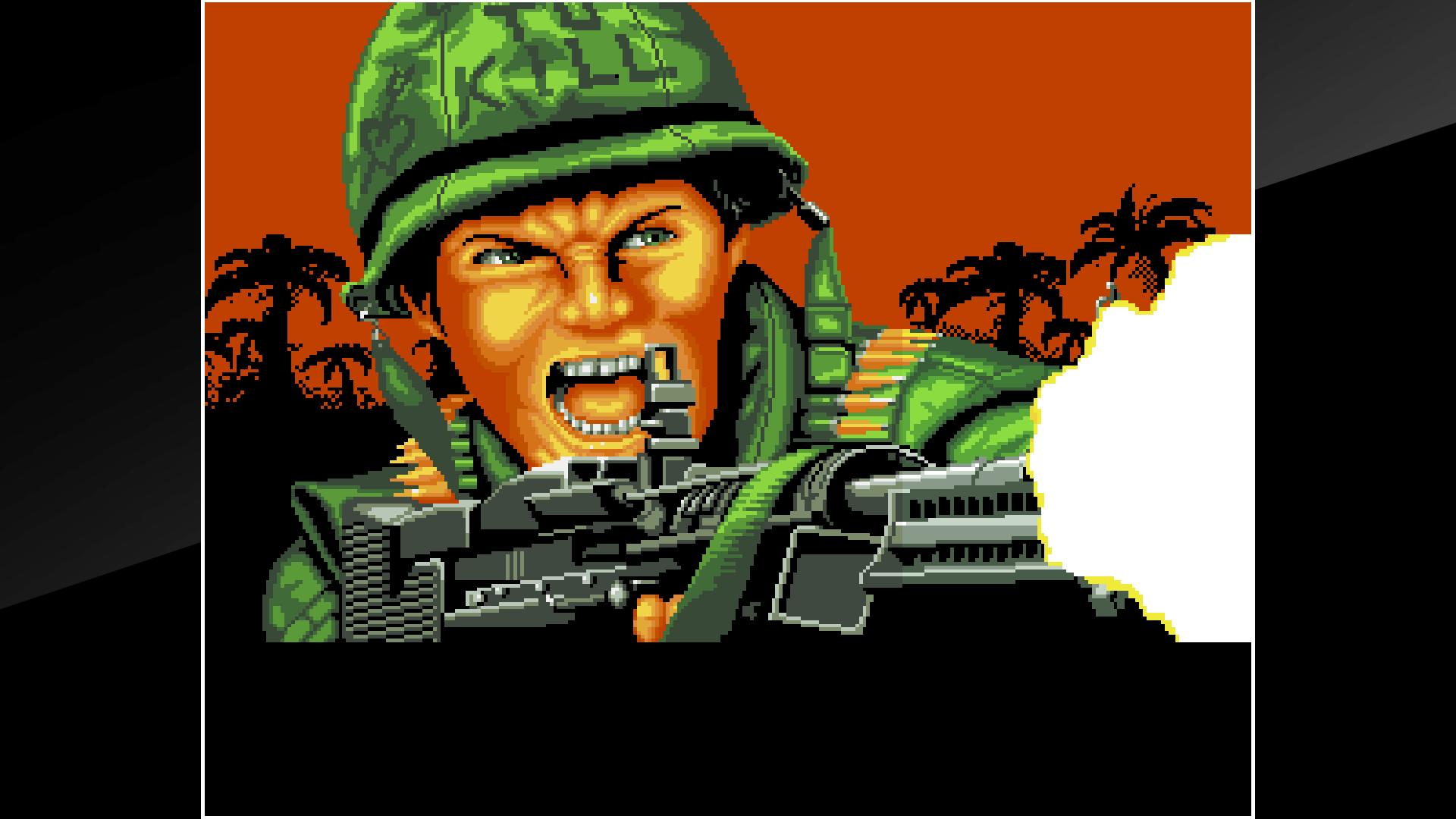 『アケアカNEOGEO NAM-1975』ゲーム画面