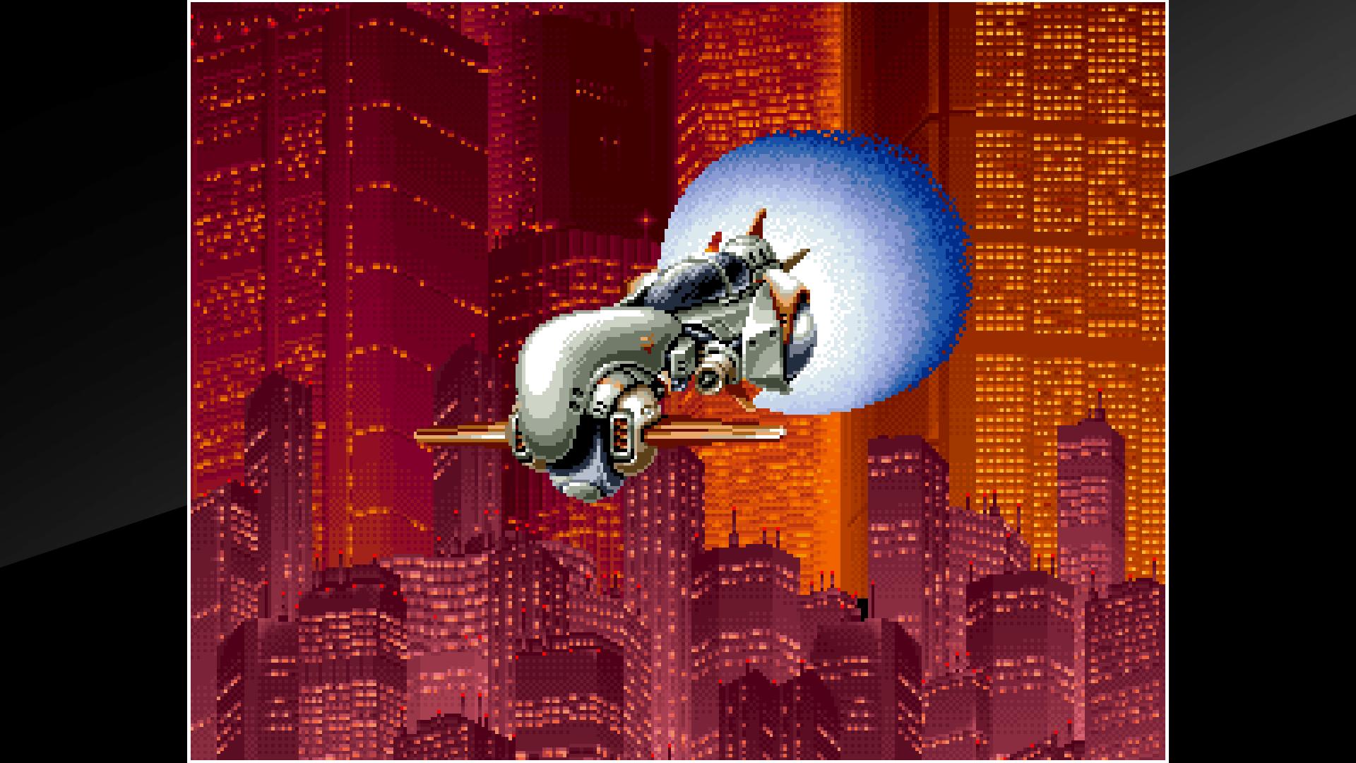 『アケアカNEOGEO ラストリゾート』ゲーム画面