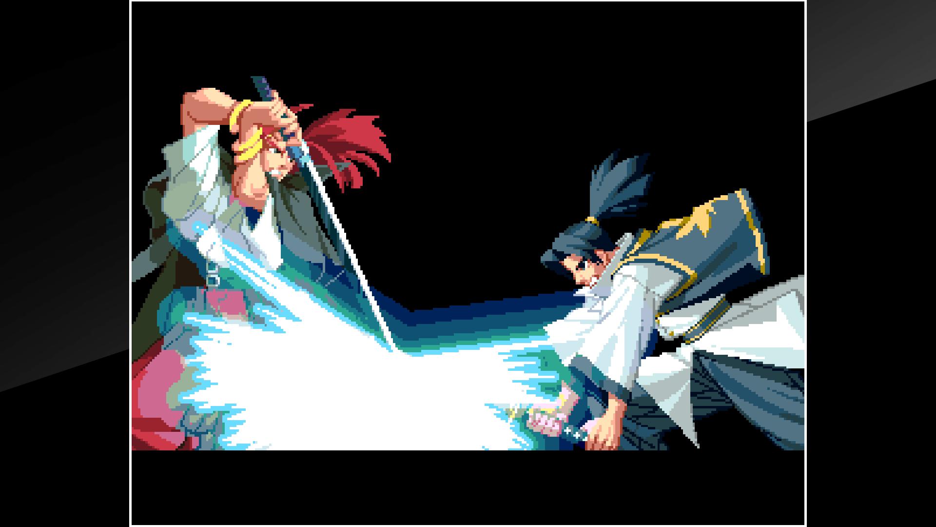 『アケアカNEOGEO 幕末浪漫 月華の剣士』ゲーム画面