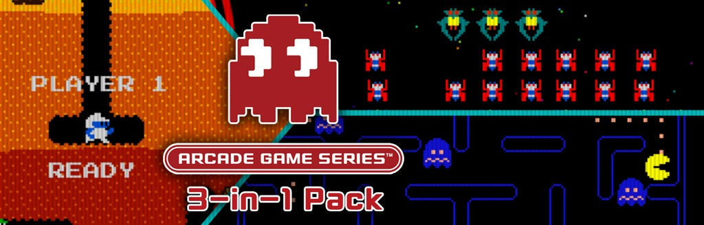 ARCADE GAME SERIES 3-in-1パック