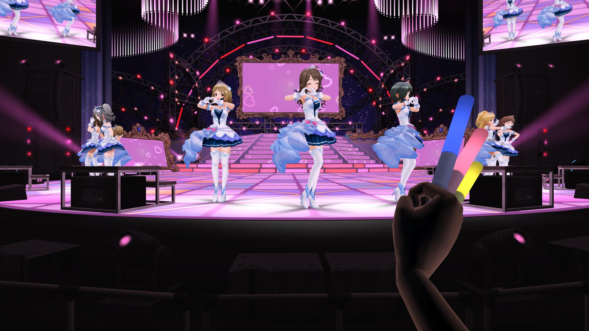 『アイドルマスター シンデレラガールズ ビューイングレボリューション』ゲーム画面