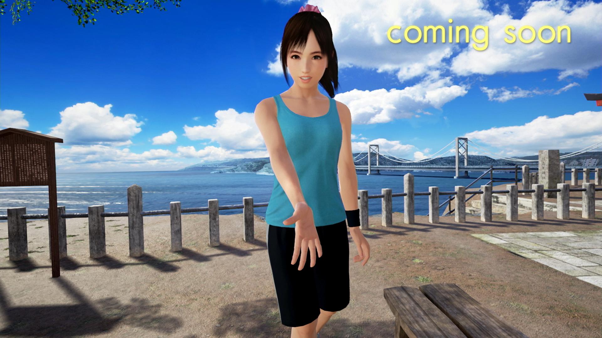 『サマーレッスン:宮本ひかり セブンデイズルーム(基本ゲームパック)』ゲーム画面