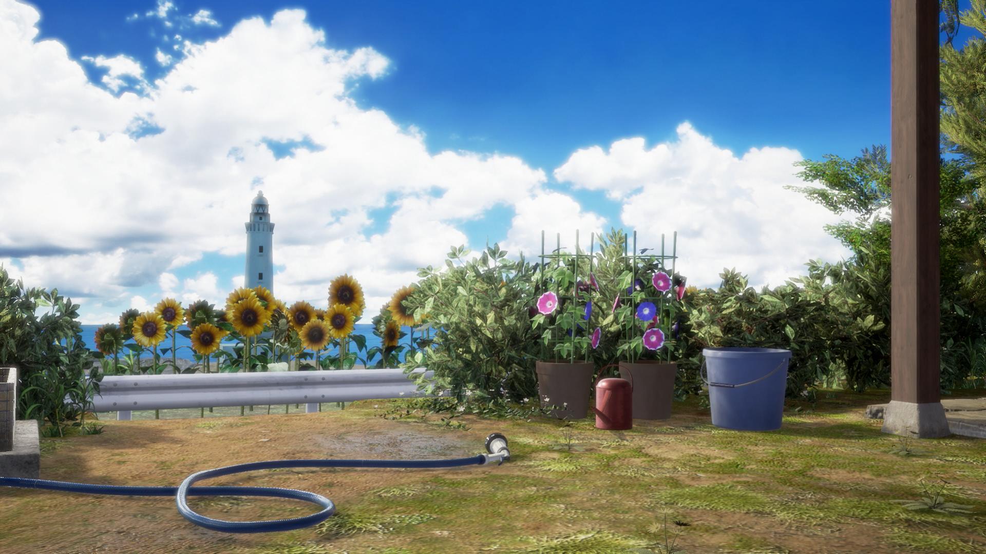 『サマーレッスン:アリソン・スノウ 七日間の庭(基本ゲームパック)』ゲーム画面