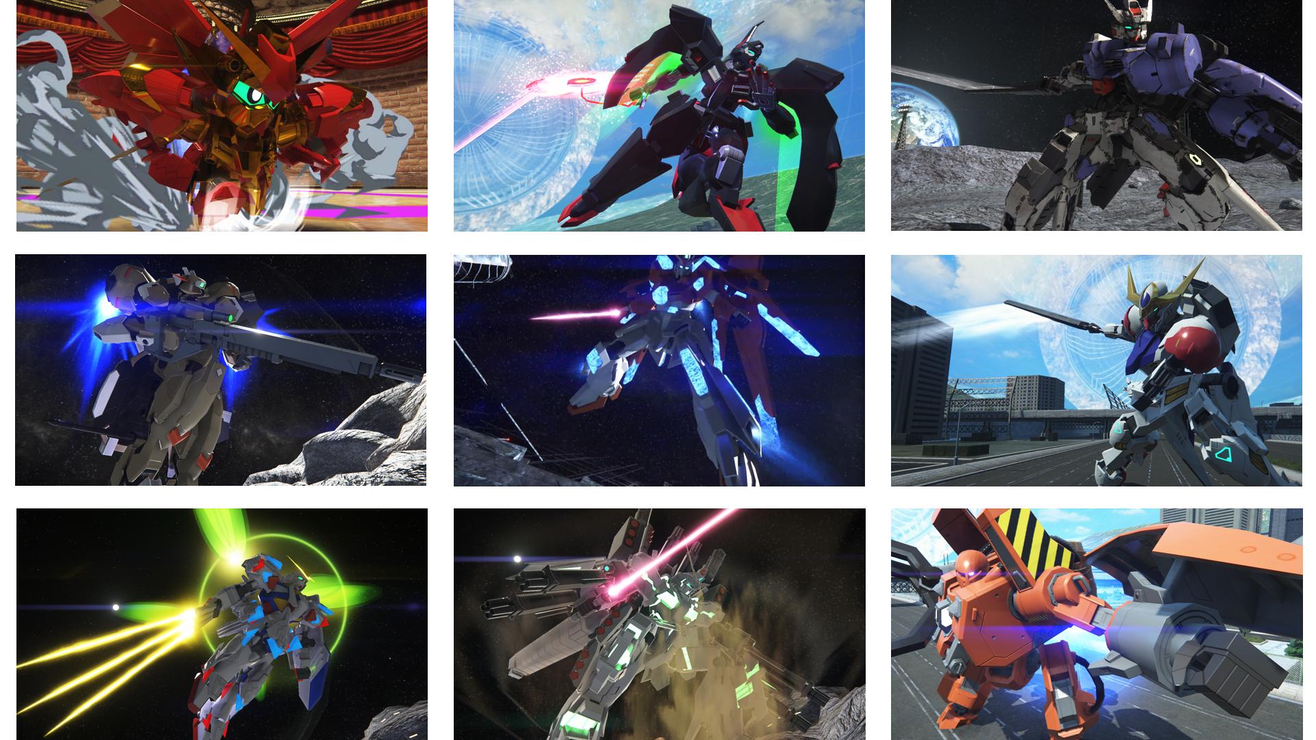 『ガンダムブレイカー3 BREAK EDITION』ゲーム画面