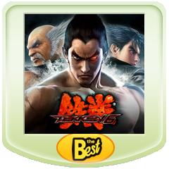 鉄拳6 PSP® the Best ジャケット画像