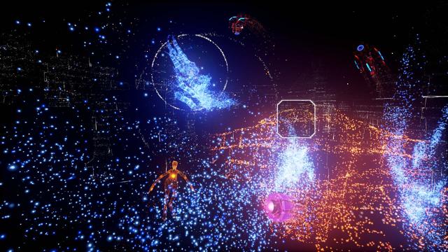 Rez Infinite ゲーム画面6