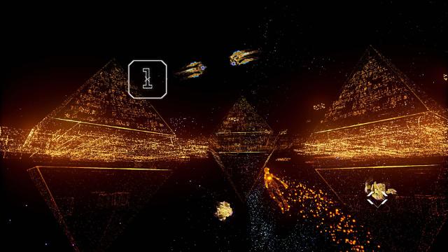 Rez Infinite ゲーム画面7