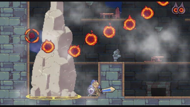 『ローグ・レガシー』ゲーム画面