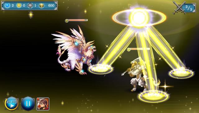 少女とドラゴン-幻獣契約クリプトラクト- ゲーム画面5