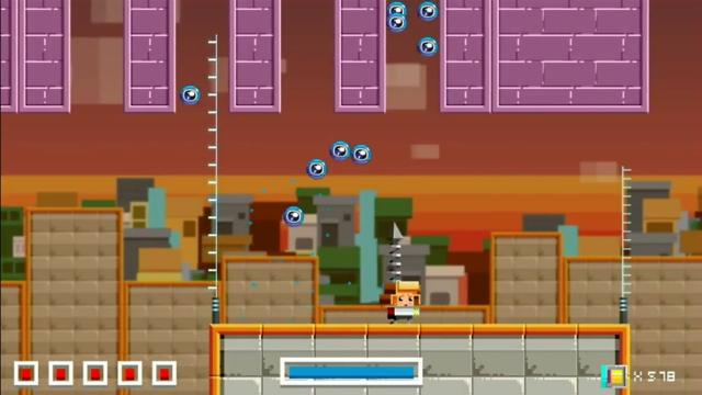 スペロイド ゲーム画面1