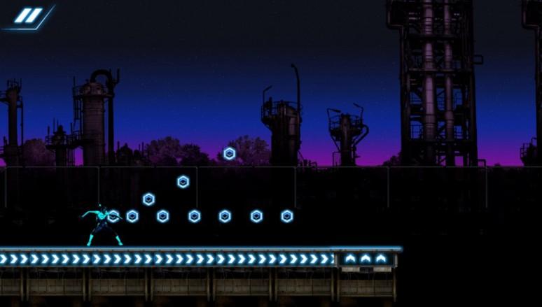 『POLARA』ゲーム画面
