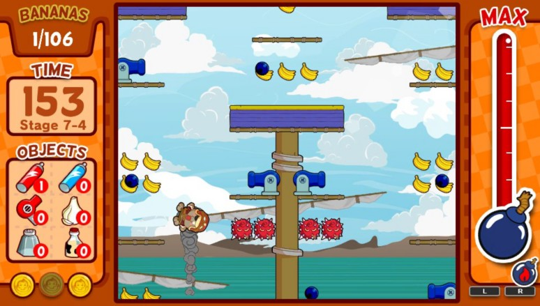 『BABOON!』ゲーム画面
