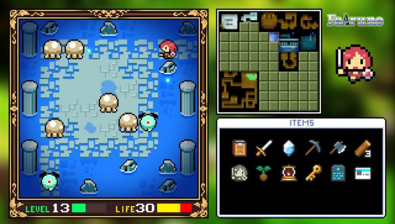 『フェアルーン』ゲーム画面