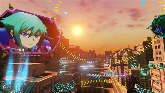 PS Plus限定:体感合体『アクエリオン・EVOL』 ゲーム画面4