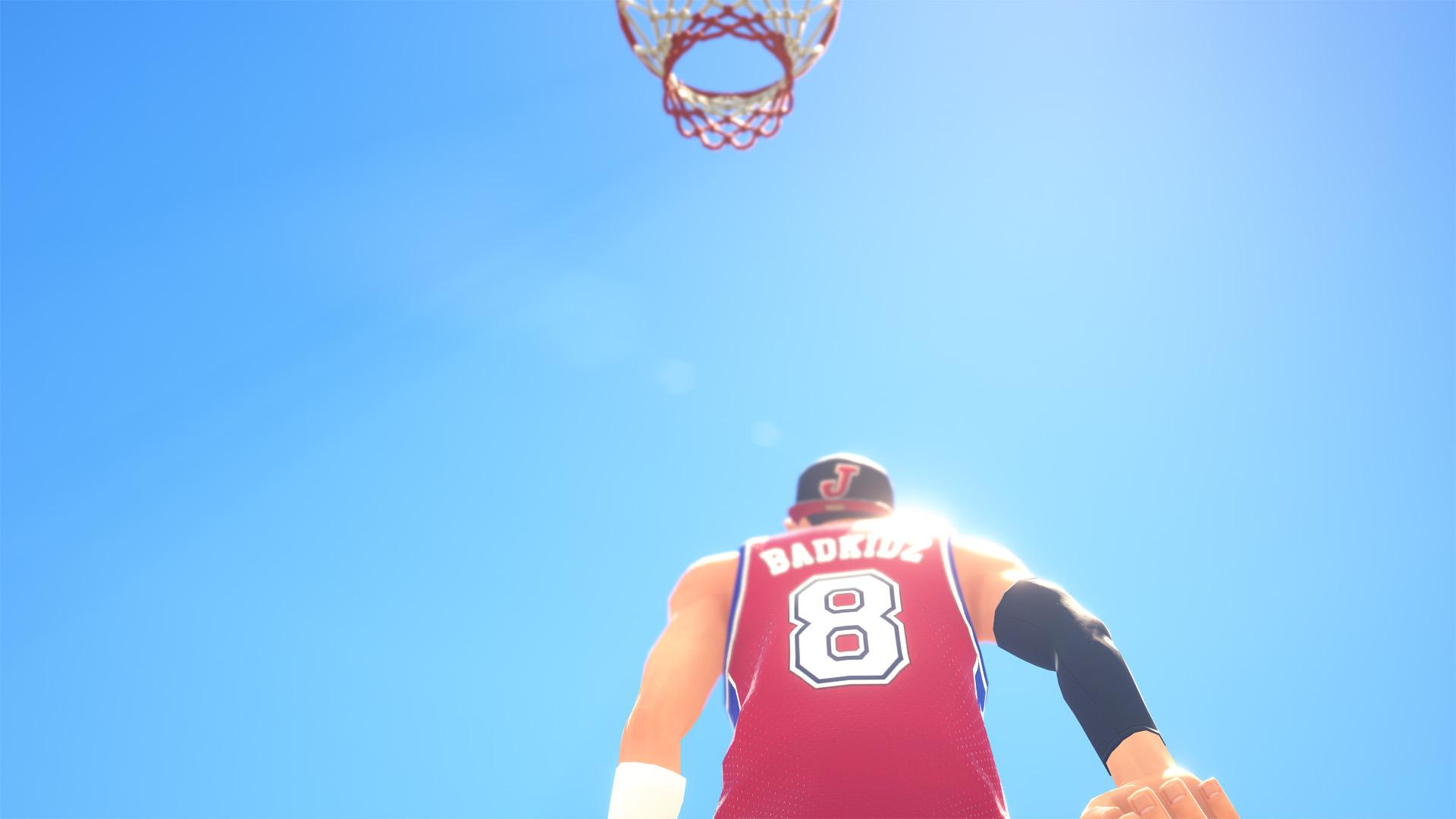 『3on3 FreeStyle』ゲーム画面