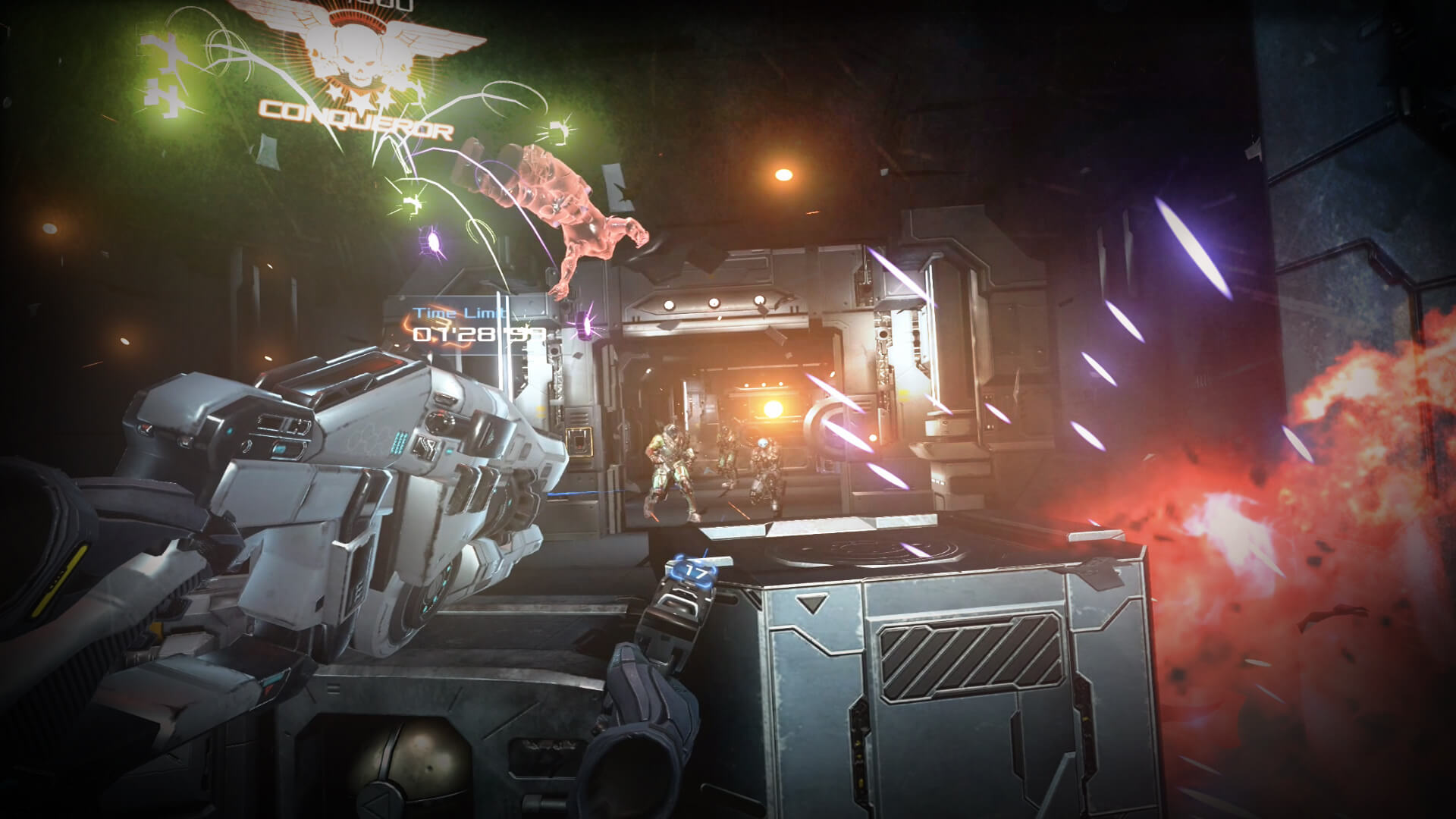 『Mortal Blitz』ゲーム画面