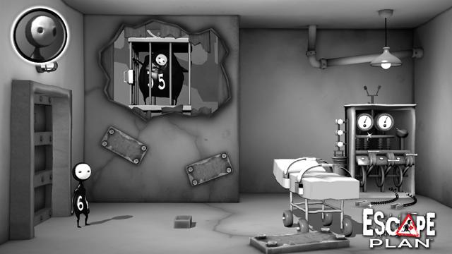 Escape Plan ゲーム画面1