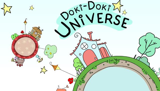Doki-Doki Universe ゲーム画面1