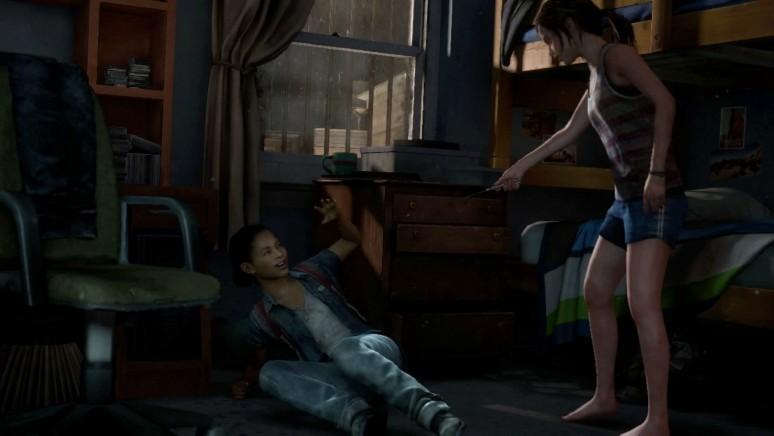 『The Last of Us Left Behind ‐残されたもの‐』ゲーム画面