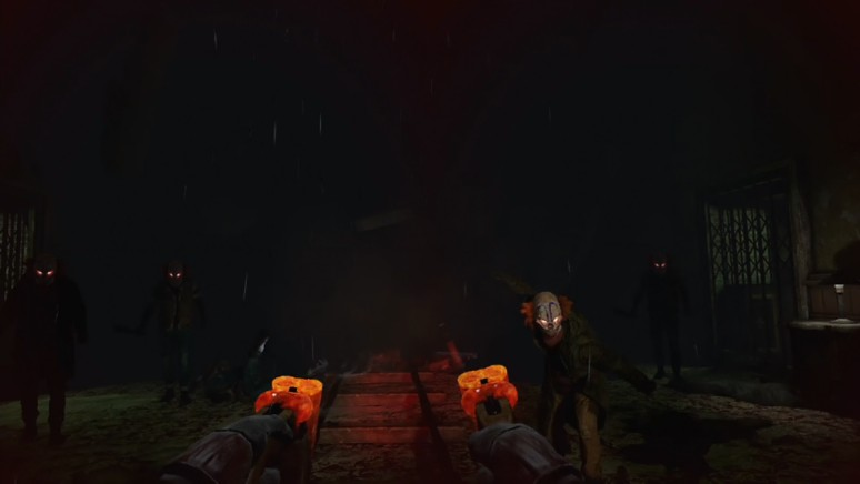 『Until Dawn: Rush of Blood』ゲーム画面