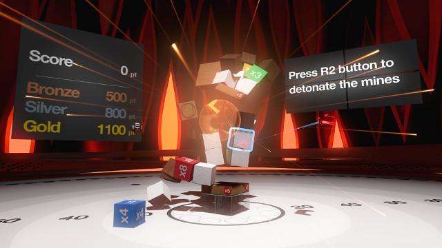 つみきBLOQ VR ゲーム画面4