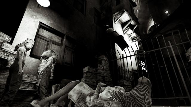 ヒア・ゼイ・ライ –眠りし者たち- ゲーム画面5
