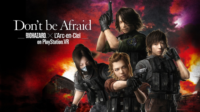 Don't be Afraid -Biohazard × L'Arc-en-Ciel on PlayStation VR- ゲーム画面1