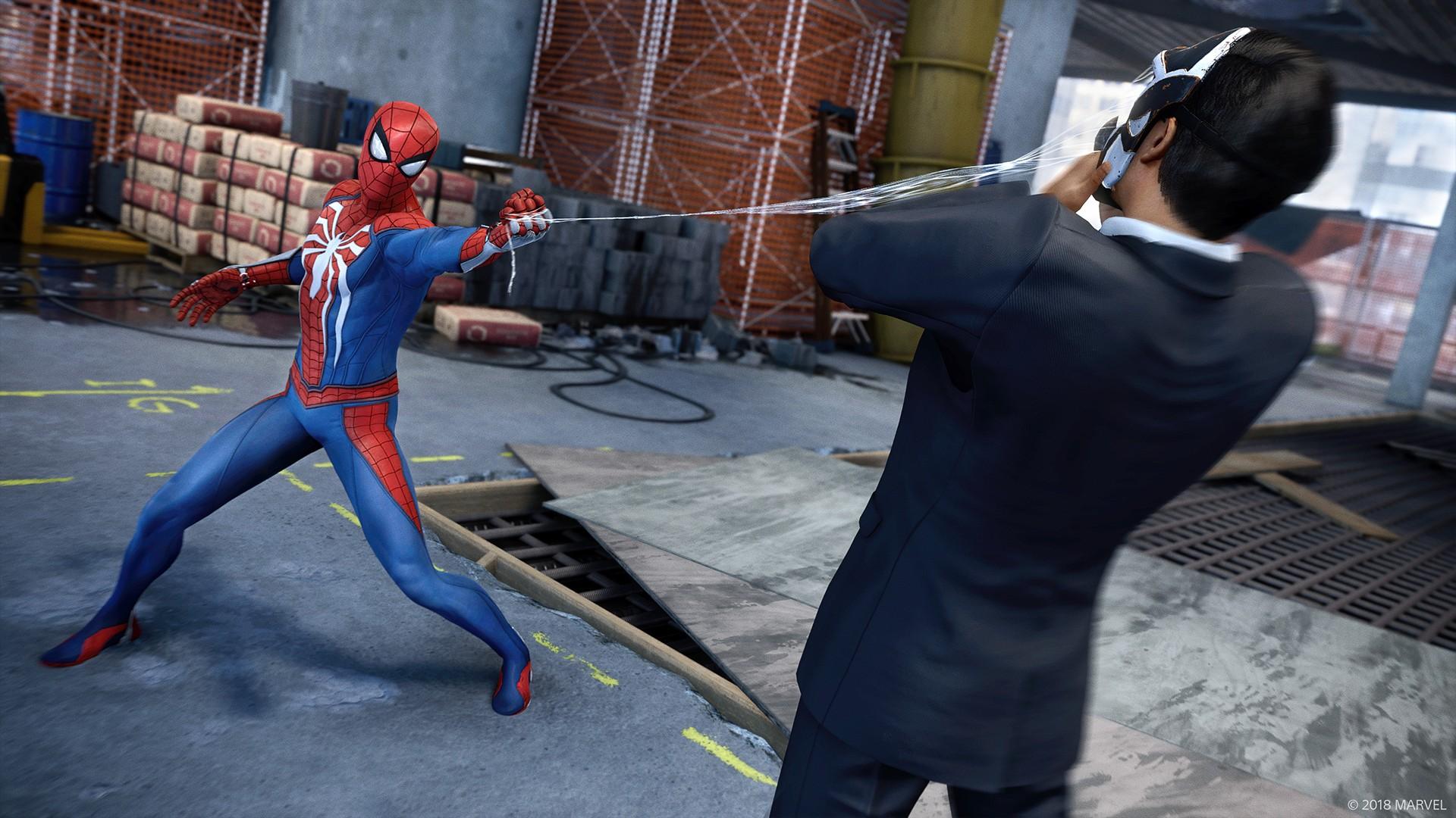 スパイダーマンの画像を拡大する
