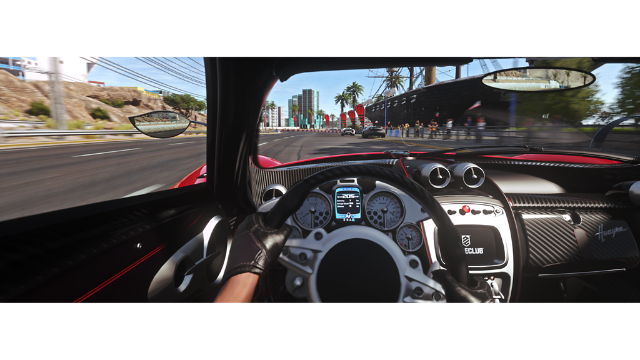 DRIVECLUB VR ゲーム画面1