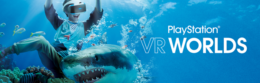 PlayStation VR WORLDS バナー画像