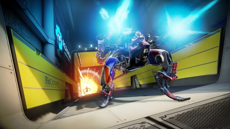 『RIGS Machine Combat League』ゲーム画面
