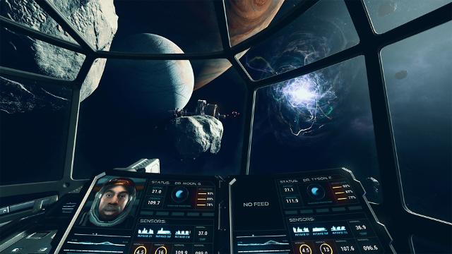 Farpoint ゲーム画面2