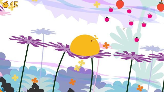 LocoRoco ゲーム画面1