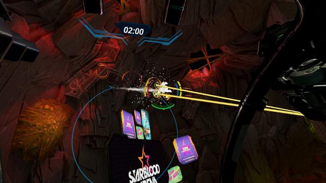 Starblood Arena ゲーム画面3