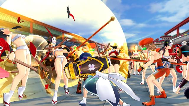 閃乱カグラ ESTIVAL VERSUS -少女達の選択- PlayStation®Vita the Best  ゲーム画面3
