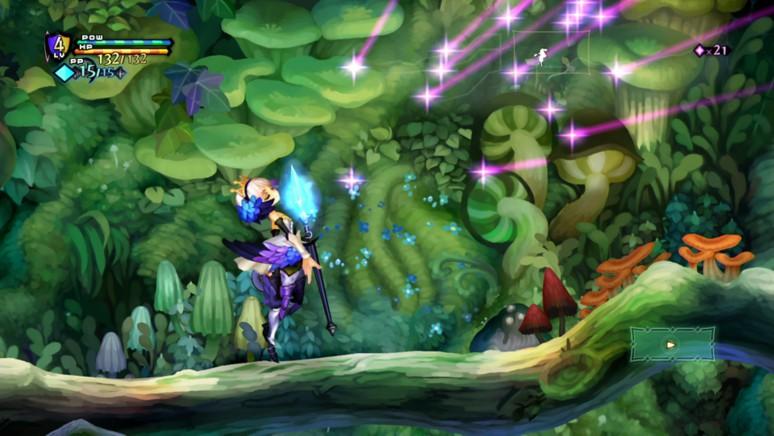 『オーディンスフィア レイヴスラシル』ゲーム画面