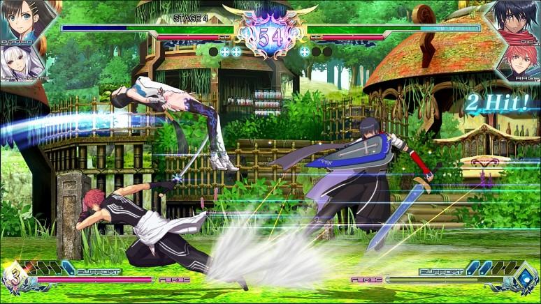 『ブレードアークス from シャイニングEX』ゲーム画面