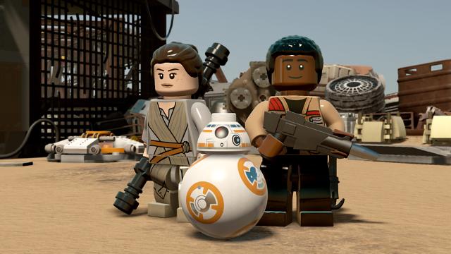 LEGO スター・ウォーズ/フォースの覚醒 ゲーム画面4
