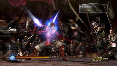 『戦国BASARA 真田幸村伝』ゲーム画面