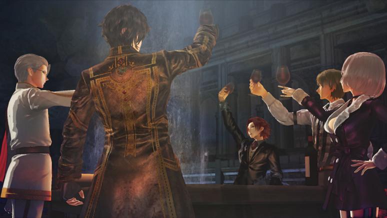 『蒼き革命のヴァルキュリア』ゲーム画面
