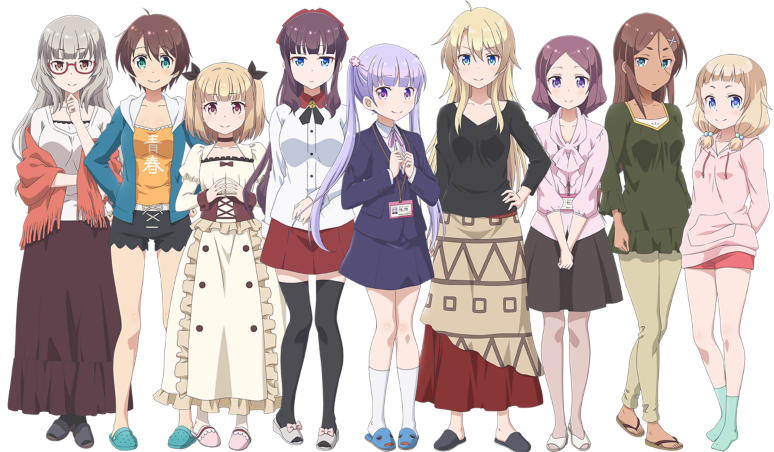 『NEW GAME! -THE CHALLENGE STAGE!-』ゲーム画面