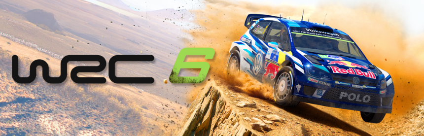 WRC 6 バナー画像