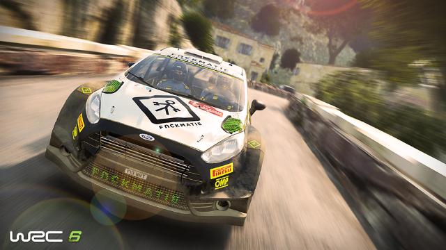 WRC 6 ゲーム画面8