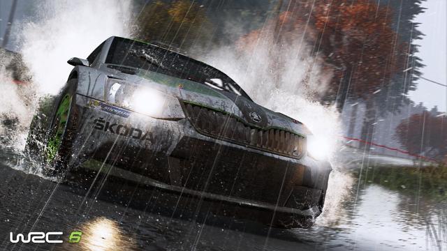 WRC 6 ゲーム画面9